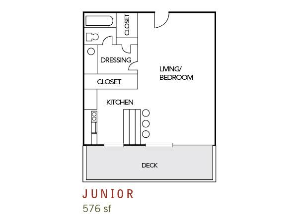 Floor plans park terrace apartment homes santa clara ca for 576 sq ft floor plan